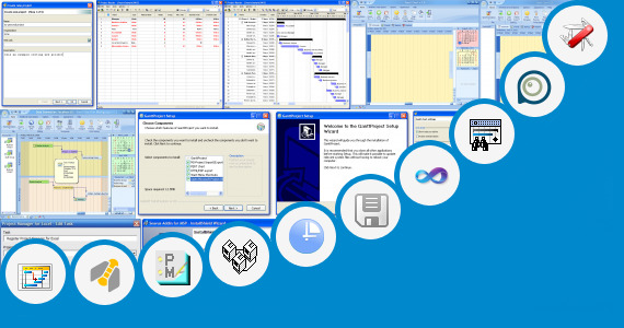 Software collection for Microsoft Project Party Planning Tasks