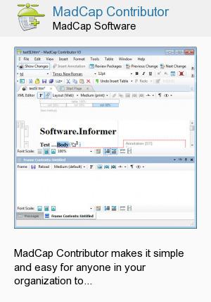 MadCap Contributor