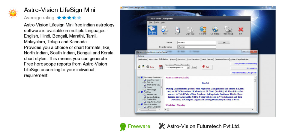 Lifesign astrology software free download