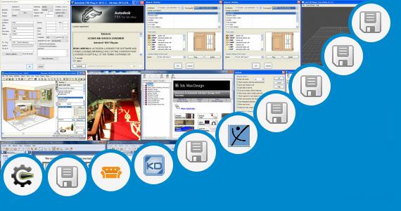 Kitchen Design 3ds Max File Autodesk 3ds Max Design 2010 Tutorials Files And 89 More