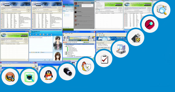 Software collection for Internal Port Scan