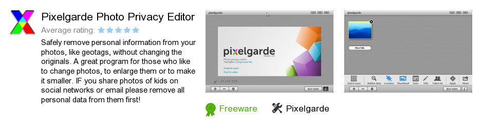 Pixelgarde Photo Privacy Editor