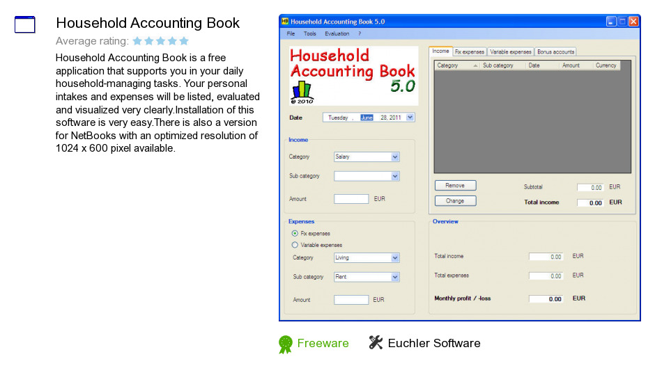 Household Accounting Book