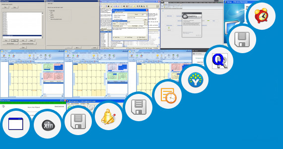 Software collection for Funny Monthly Bill Organizer