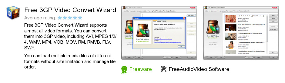 Free 3GP Video Convert Wizard