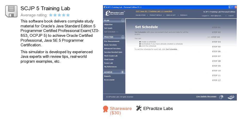 SCJP 5 Training Lab
