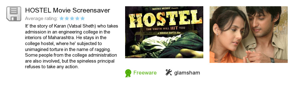 HOSTEL Movie Screensaver