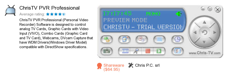 ChrisTV PVR Professional