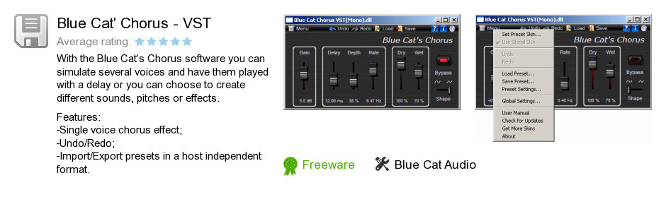 Blue Cat's Chorus - VST