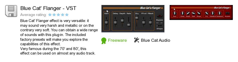 Blue Cat's Flanger - VST