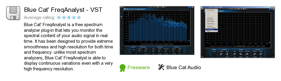Blue Cat's FreqAnalyst - VST
