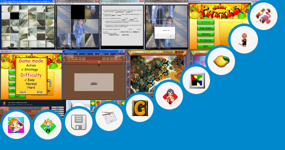 Software collection for Puzzle Games Alkitab