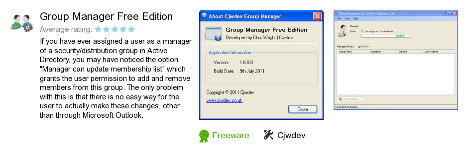 Group Manager Free Edition