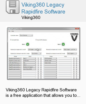 Viking360 Legacy Rapidfire Software