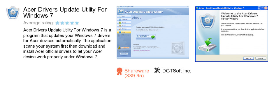 Acer Drivers Update Utility For Windows 7