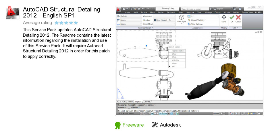 AutoCAD Structural Detailing 2012 - English SP1