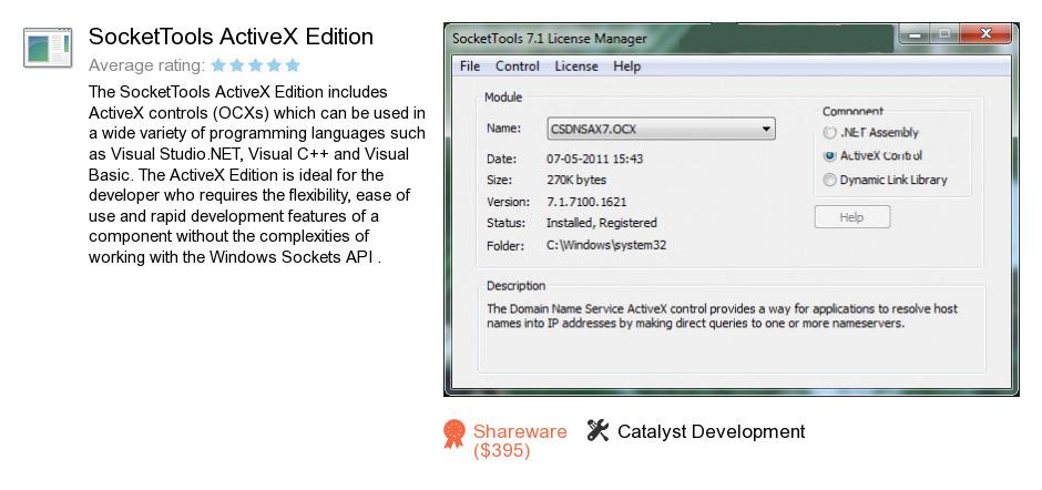 SocketTools ActiveX Edition