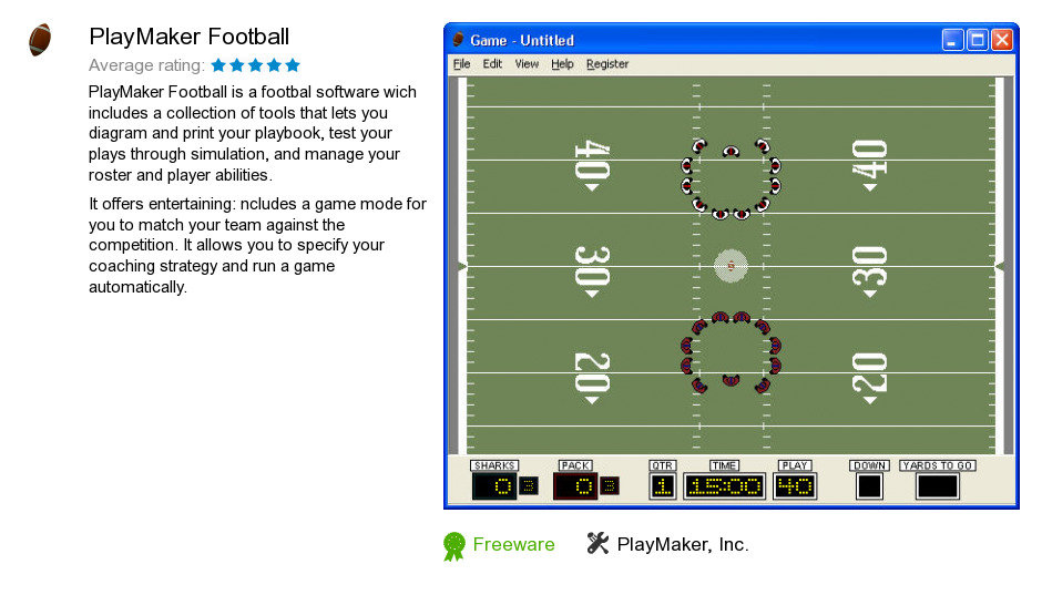 Free playmaker football download 3 252 155 bytes for Playmaker templates