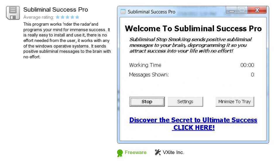 Subliminal Success Pro