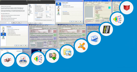Software collection for Internet Fax Torrent