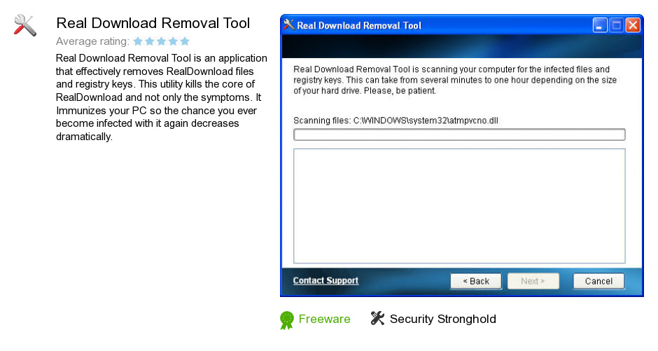 Real Download Removal Tool