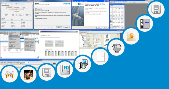 Software collection for Fluid Simulation Software Festo