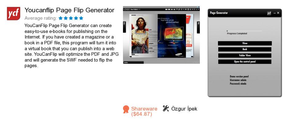 Youcanflip Page Flip Generator