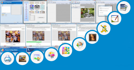 Software collection for Blur Collage Maker Program