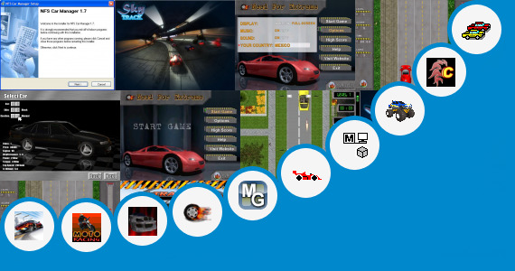 Software collection for Speed Car Games Wap