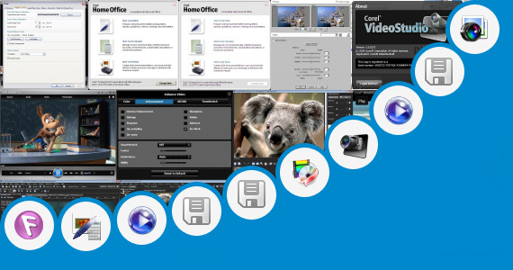 Software collection for Software Corel 9