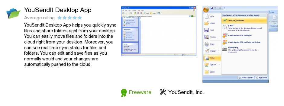 YouSendIt Desktop App