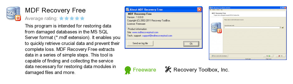 MDF Recovery Free