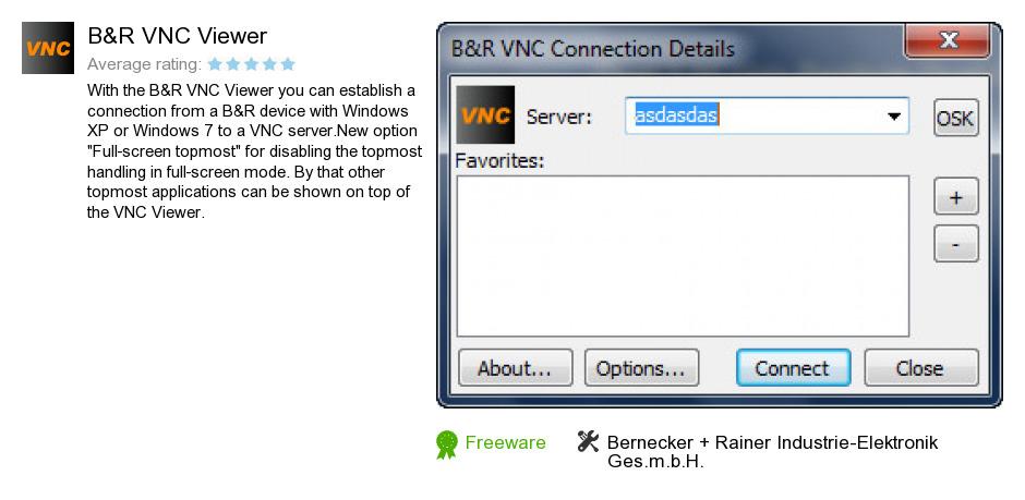 B&R VNC Viewer