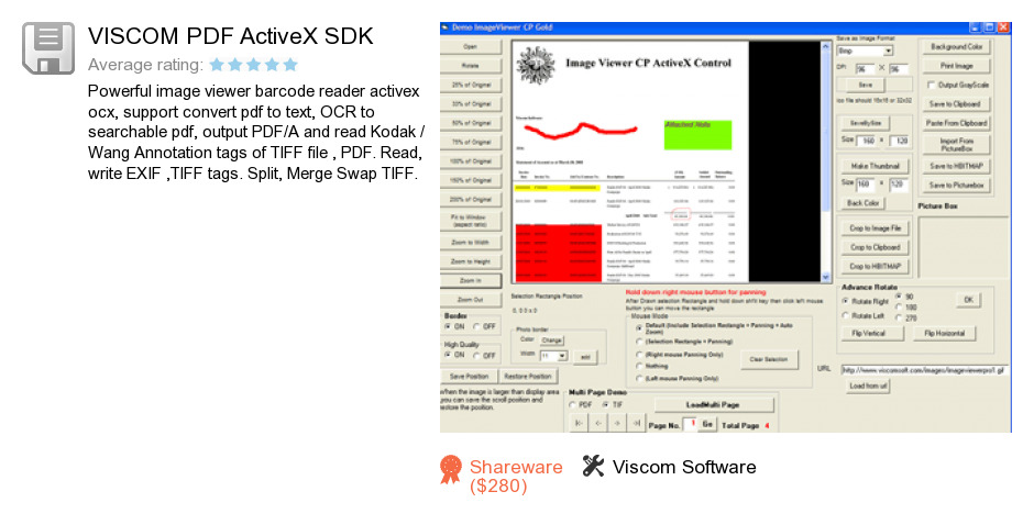 VISCOM PDF ActiveX SDK