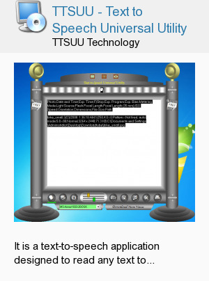 TTSUU - Text to Speech Universal Utility