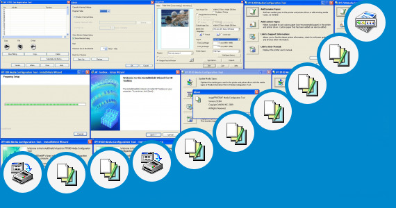 Software collection for Mp Tool Canon Mp495