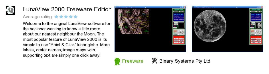 LunaView 2000 Freeware Edition