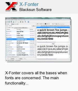 X-Fonter