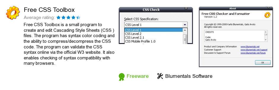 Free CSS Toolbox