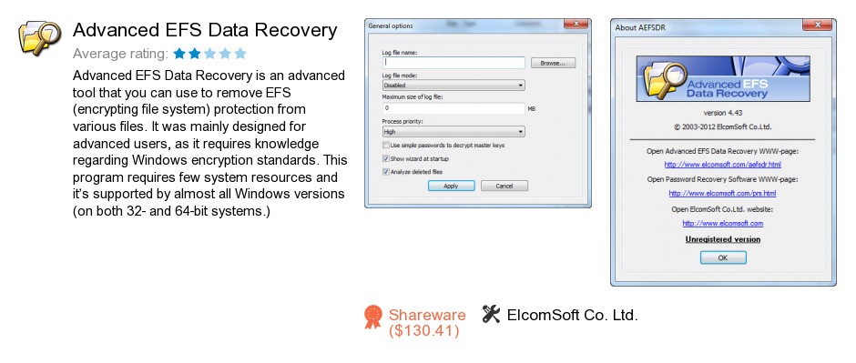 Advanced EFS Data Recovery