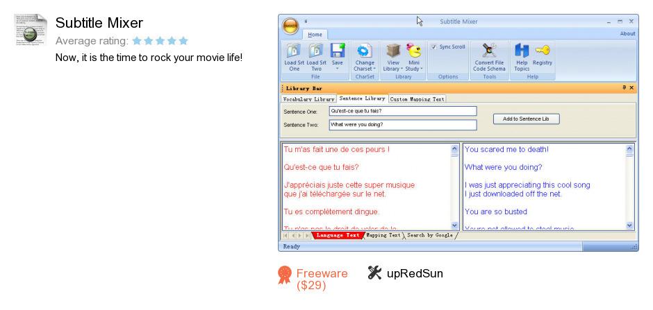 Subtitle Mixer