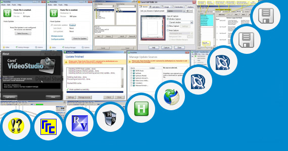 Software collection for Corel Draw X5 Host File Entry