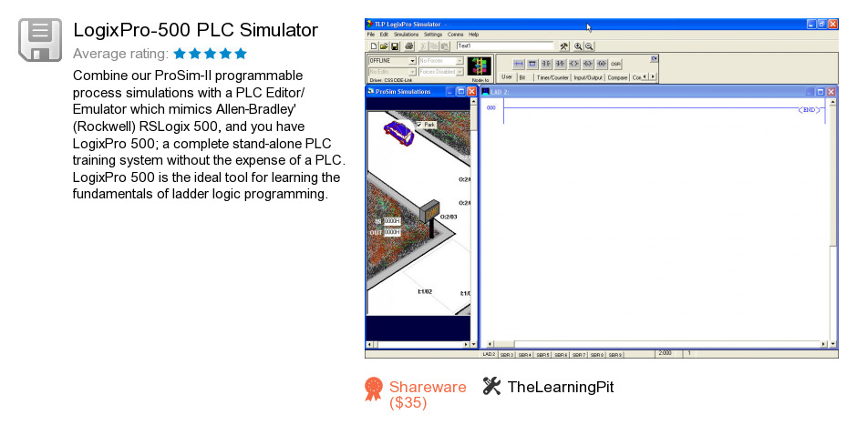 LogixPro-500 PLC Simulator