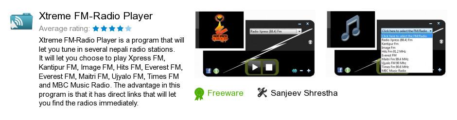 Xtreme FM-Radio Player