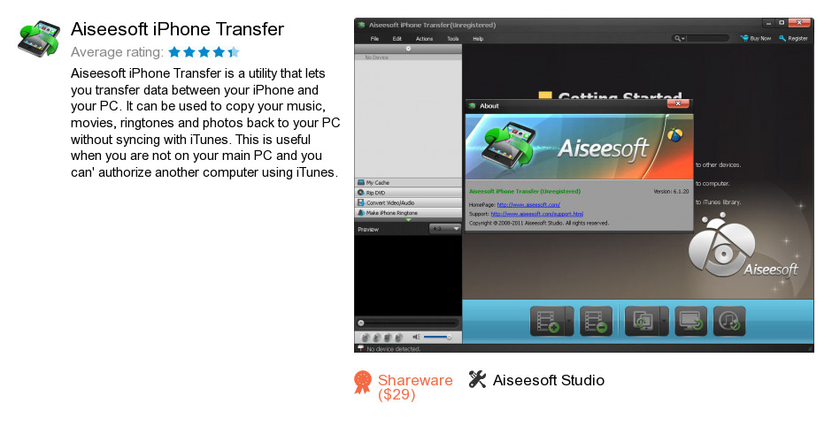 Aiseesoft iPhone Transfer