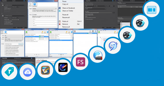 Software collection for Facebook Apps In Vxp Format
