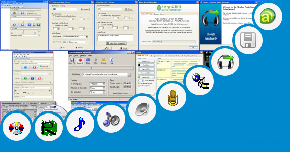 Software collection for Record Audio Mic As3