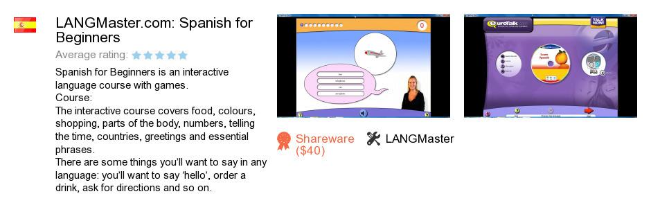 LANGMaster.com: Spanish for Beginners