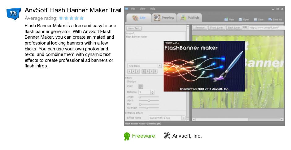 AnvSoft Flash Banner Maker Trail