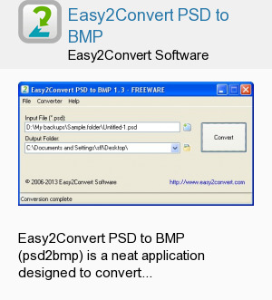 Easy2Convert PSD to BMP